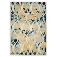 Daintree Ethereal 4' x 6' Area Rug in Navy