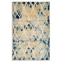 Daintree Ethereal 5' x 8' Area Rug in Navy