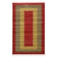 Empress Nomad 3'3 x 5'3 Area Rug in Red