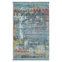Unique Loom Alamar Havana 2'2 x 3' Accent Rug in Blue