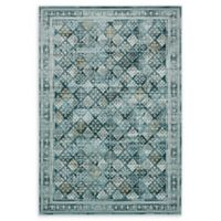 Unique Loom Cambridge 7' x 10' Area Rug in Dark Blue