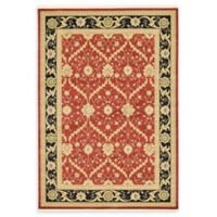 Unique Loom Freesia Heritage 7' x 10' Area Rug in Red