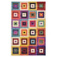 Unique Loom Demi Barcelona Multicolor 5' x 8' Area Rug