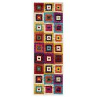 Unique Loom Demi Barcelona Multicolor 2'2 x 6'7 Runner