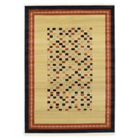 Unique Loom Eutopia Nomad 7' x 10' Area Rug in Beige