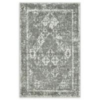 Unique Loom St. Mark's Venice 4' x 6' Power-Loomed Area Rug in Grey