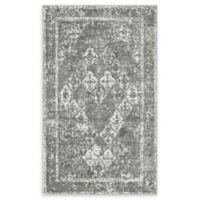 Unique Loom St. Mark's Venice 5' x 8' Power-Loomed Area Rug in Grey