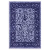 "Unique Loom La Jolla 2'2"" x 3' Accent Rug in Blue"