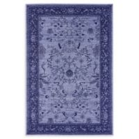 Unique Loom La Jolla 4' x 6' Area Rug in Blue