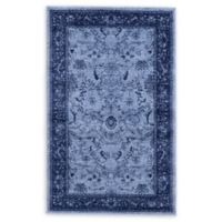 Unique Loom La Jolla 5' x 8' Area Rug in Blue