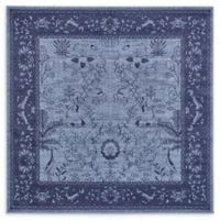 Unique Loom La Jolla 6' x 6' Area Rug in Blue