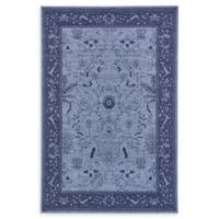 Unique Loom La Jolla 6' x 9' Area Rug in Blue