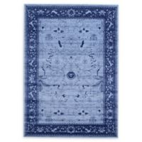 Unique Loom La Jolla 7' x 10' Area Rug in Blue