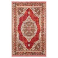 Unique Loom Castro Havana 5' x 8' Area Rug in Red