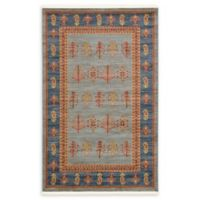 Unique Loom Nomad Darya 5' x 8' Area Rug in Light Blue