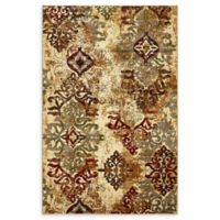 Unique Loom Transitional 5' x 8' Area Rug in Beige