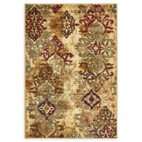 Unique Loom Transitional 4' x 6' Area Rug in Beige