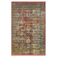 Unique Loom Cayo Hueso 5' x 8' Power-Loomed Area Rug in Red