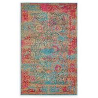 Unique Loom Coranado Palazzo 3'3 x 5'3 Power-Loomed Area Rug in Blue