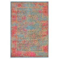 Unique Loom Coranado Palazzo 4' x 6' Power-Loomed Area Rug in Blue