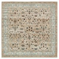 Unique Loom Coronado Cambridge 6' x 6' Power-Loomed Area Rug in Taupe