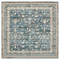 Unique Loom Coronado Cambridge 6' x 6' Power-Loomed Area Rug in Dark Blue