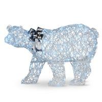 National Tree Company 27.5-Inch Pre-Lit Polar Bear Decoration