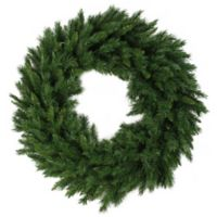 24-Inch Lush Mixed Pine Artificial Christmas Wreath