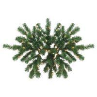 Northlight 28-Inch Pre-Lit Windsor Pine Swag