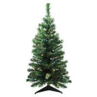 Northlight 3-Foot Pre-Lit Classic Pine Christmas Tree