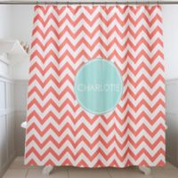 Preppy Chic Shower Curtain
