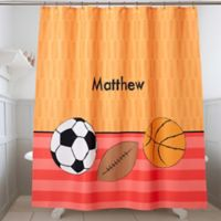 Just For Him Shower Curtain