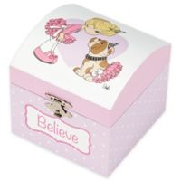 Precious Moments® Ballerina Musical Jewelry Box