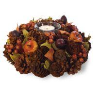 Boston International Fall Berries Artificial Tealight Candle Holder