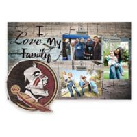 Florida State University I Love My Family 3-Photo Clip Frame