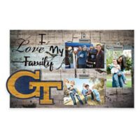 Georgia Tech University I Love My Family 3-Photo Clip Frame