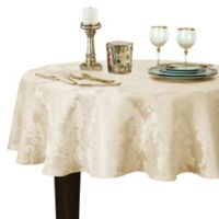 Barcelona Damask 90-Inch Round Tablecloth in Antique