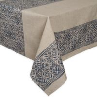 ED Ellen DeGeneres Nomad 60-Inch Square Tablecloth in Blue