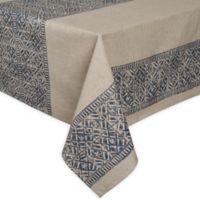 ED Ellen DeGeneres Nomad 60-Inch Square Tablecloth in Blue