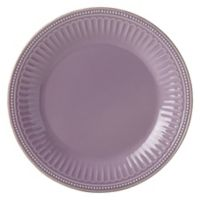 Lenox® French Perle™ Groove Dinner Plate in Violet