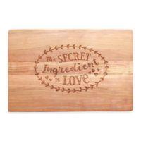 Secret Ingredient Artisan Cherry Cutting Board