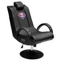 MLB Philadelphia Phillies Gaming Chair 100 Pro with Bluetooth in Black