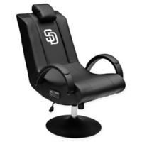 MLB San Diego Padres Gaming Chair 100 Pro with Bluetooth in Black