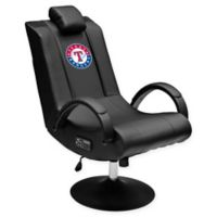 MLB Texas Rangers Gaming Chair 100 Pro with Bluetooth in Black