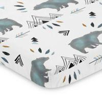 Sweet Jojo Designs Bear Mountain Mini Crib Sheet