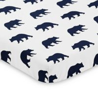 Sweet Jojo Designs Big Bear Mini Crib Sheet