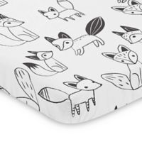 Sweet Jojo Designs Fox Mini Crib Sheet
