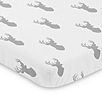 Sweet Jojo Designs Woodland Deer Mini Crib Sheet
