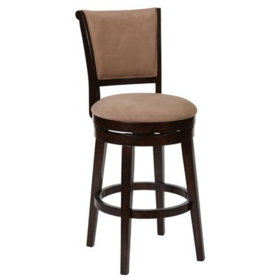 Hillsdale Furniture Wood Swivel Armstrong Bar Stool