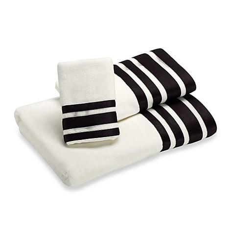 Nicole Miller Linear Hand Towel